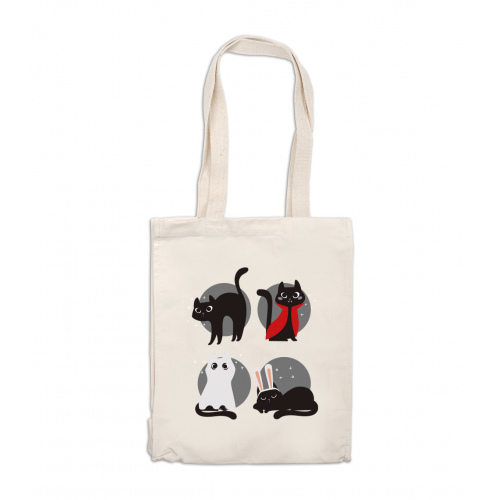 Tote bag Déguise-toi mon chat