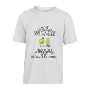 T-Shirt Pomme génération
