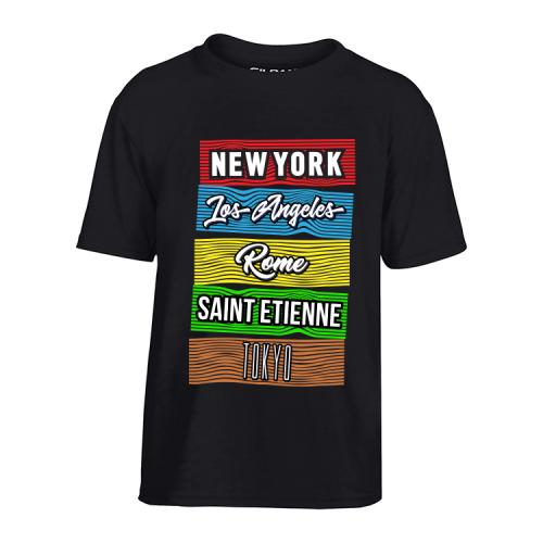 T-Shirt Villes du monde