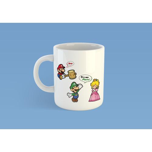 Mug It's me Mario