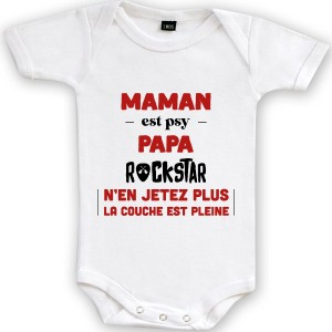 Body Maman psy Papa rockstar