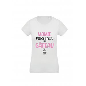 T-Shirt Mamie gâteau