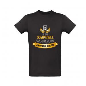 T-Shirt Je suis comptable